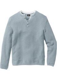 Pullover Regular Fit, bpc bonprix collection, silbergrau
