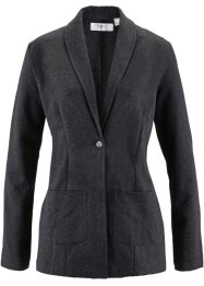 Long-Blazer, Langarm, bpc bonprix collection, schwarz