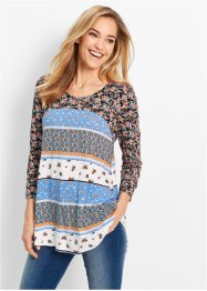 Patchwork-Shirt mit Blumenprint – designt von Maite Kelly, bpc bonprix collection
