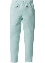 Stretchhose mit Zippern, bpc bonprix collection, pastellmint