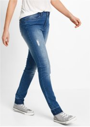 Jeans mit offenem Saum – designt von Maite Kelly, bpc bonprix collection, blue stone used