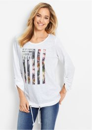 Shirt mit Blumendruck - designt von Maite Kelly, bpc bonprix collection
