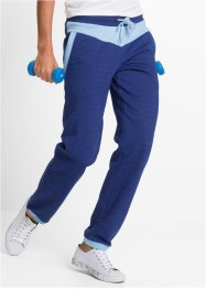 Lange Jogginghose, bpc bonprix collection, mitternachtsblau meliert