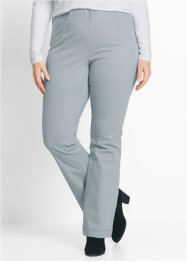 Schlupf-Stretchhose, bpc bonprix collection, silbergrau