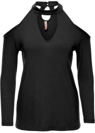Shirt, BODYFLIRT boutique, schwarz