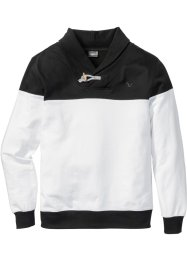 Sweatshirt mit Schalkragen Regular Fit, bpc bonprix collection