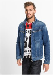 Stretch-Jeansjacke Regular Fit, RAINBOW, grey denim used