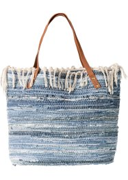 Tasche, bpc bonprix collection, blue stone/blue bleached/creme mix