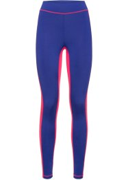 Lange Funktions-Leggings mit Schlank-Effekt, bpc bonprix collection, saphirblau