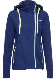Long-Sweatjacke, bpc bonprix collection, mitternachtsblau