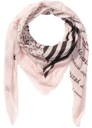 XXL-Tuch Print-Mix, bpc bonprix collection, rosa