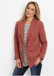 Long-Blazer, bpc bonprix collection, marsalabraun