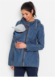 Umstands-Jeansjacke mit Baby-Einsatz, bpc bonprix collection, blue stone