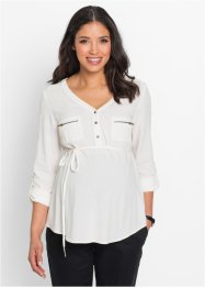 Umstandsbluse mit Bindeband, bpc bonprix collection