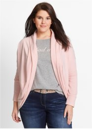 Sweatcardigan, bpc bonprix collection, perlrosa