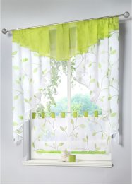 Kleinfenster mit Blätter Druck, bpc living bonprix collection