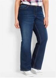 "Stretch-Jeans ""Bootcut"", bpc bonprix collection, dark denim"