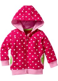 Baby Sweatjacke mit Kapuze Bio-Baumwolle, bpc bonprix collection