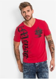 T-Shirt Slim Fit, RAINBOW, rot