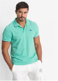 Poloshirt Regular Fit, bpc bonprix collection, mintgrün