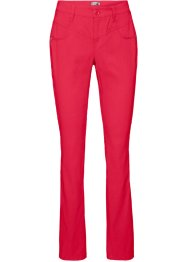 "Stretch-Hose, ""gerade"", bpc bonprix collection, rot"