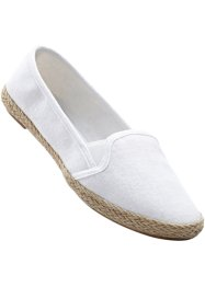 Freizeitslipper, bpc bonprix collection, weiß
