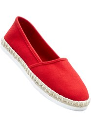 Espadrille, bpc bonprix collection, rot