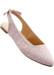 Slingballerina, bpc bonprix collection, altrosa/sand