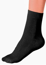 GO IN Damensocken (5er-Pack), GO IN, schwarz