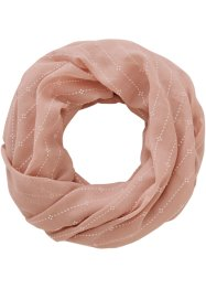 Loop mit Streifen, bpc bonprix collection, rosa