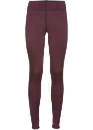 Lange Seamless-Sport-Leggings, bpc bonprix collection, hibiskuspink meliert