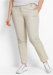 7/8-Stretchhose, bpc bonprix collection, kieselbeige