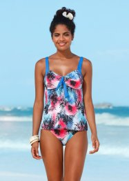 Tankini-Oberteil, bpc bonprix collection, blau/rot