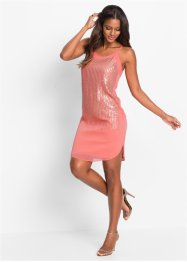 Kleid mit Pailletten, BODYFLIRT boutique, rosa/goldfarben