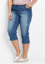Capri-Stretch-Jeans, bpc bonprix collection, blue stone