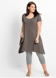 Flammgarn-Shirtkleid mit Kurzarm, bpc bonprix collection
