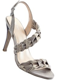 Sandalette, bpc selection, naturstein/gold