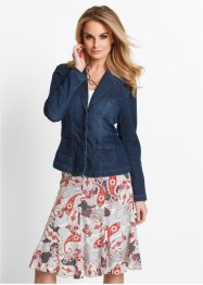 Sweatblazer in Jeansoptik, bpc selection, dark blue stone