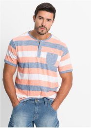Henley-Shirt Regular Fit, John Baner JEANSWEAR