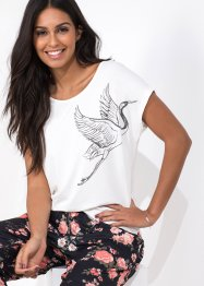 Shirt mit Vogelprint, BODYFLIRT