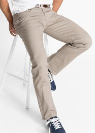 Stretch-Hose Classic Fit Straight, John Baner JEANSWEAR, dunkelbeige