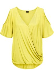 Shirt mit Cut-Out, BODYFLIRT, helllimone