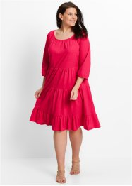 Shirtkleid aus Leinenmix, 3/4 Arm, bpc bonprix collection