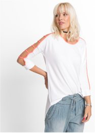 Longshirt mit Cut-Outs, RAINBOW
