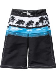 Badeshorts, bpc bonprix collection, schwarz