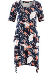 Shirtkleid, bpc bonprix collection, lachs bedruckt