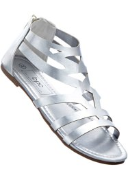Sandale, bpc bonprix collection, silber