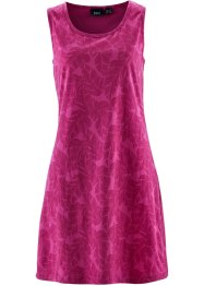 Shirtkleid, bpc bonprix collection, mittelfuchsia bedruckt