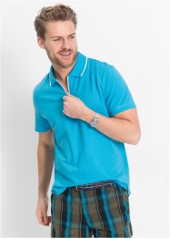 Poloshirt Regular Fit, bpc bonprix collection, türkis