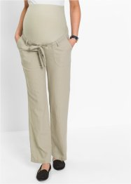 Umstands-Leinenhose, bpc bonprix collection, sand